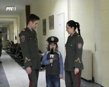 """РТС1 - """"Мали дневник"""" на Војној академији"""