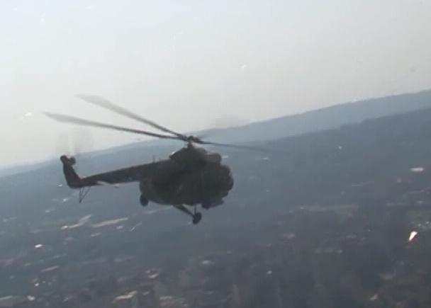 Проба војне параде - снимци из ваздуха